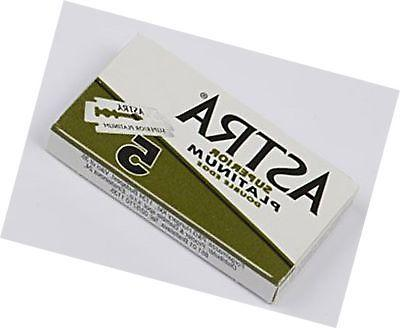 Astra Superior Premium Double Edge Razor Blades 3 Pack of 5 B...