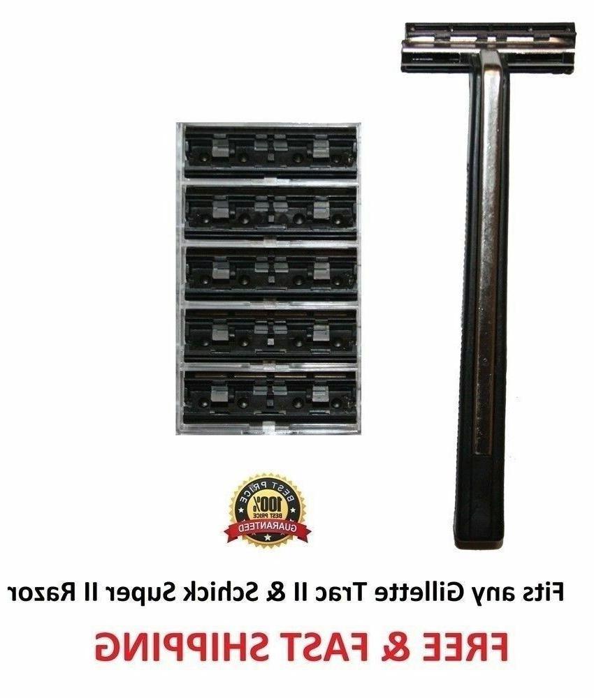 supermax razor 5 blades fits gillette trac