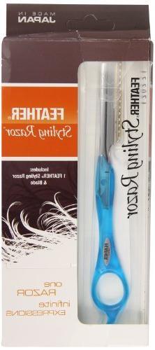 Feather Tomei Blue Razor Kit