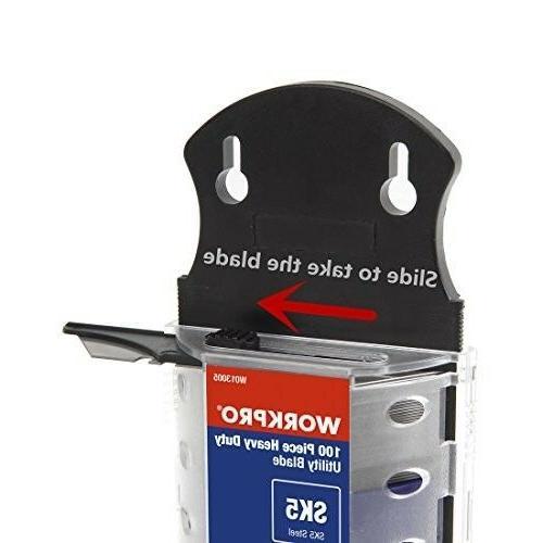 WORKPRO Utility Blades Dispenser