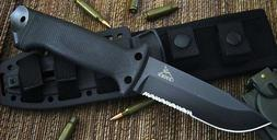 Gerber LMF II Infantry Survival Fixed Blade Partially Serrat