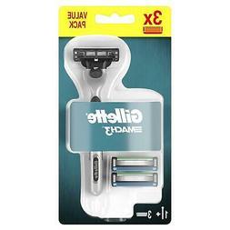 Gillette Mach 3 Men's Razor with 3 Replacement Blade Shaving