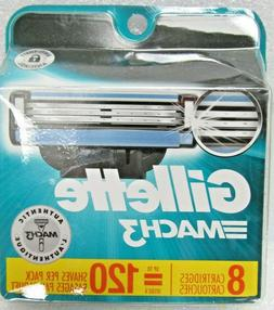 Gillette Mach3 Men's Razor Blade Refills, 15 Count , Mens
