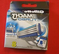 Gillette Mach3 Turbo Refill Blades -  32 Cartridges + Free L
