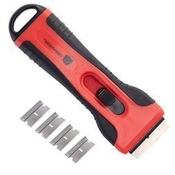 ORIENTOOLS Scraper Razor Blades Mini Plastic Retractable Scr