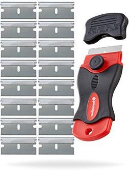 InstallGear Mini Razor Scraper with 16 Blades