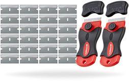 InstallGear Mini Razor Scraper with 24 Blades