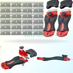 InstallGear Mini Razor Scraper with 24 Blades  2 Scrapers +