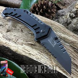 Mtech Serrated Sheep's Foot Blade Spring Assisted Tactical F