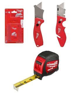 Multi Use Utility Knife Set with Blades Milwaukee Cutting Ha