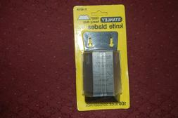 NEW STANLEY 11-921A 100 PACK HEAVY DUTY UTILITY RAZOR BLADES