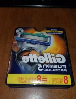 *NEW Gillette Fusion Proglide Proglide Power 8 Pack Cartridg