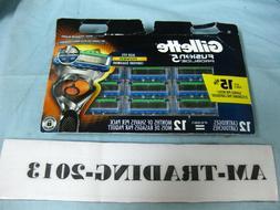 New Gillette Fusion5 ProGlide Men's Razor Blades Refills 12