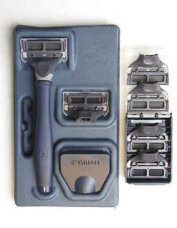 New Harrys Mens Razor Set with 6 Razor Blades  Great Gift Id