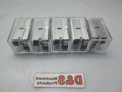 New Lot of 5 American Safety Razor Blades with Dispenser 1-1