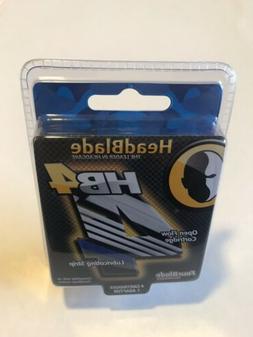 New Headblade Men's HB4 Refill Shaving razor Blades  with