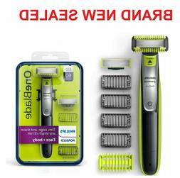 Philips Norelco OneBlade Face/Body hybrid electric trimmer s