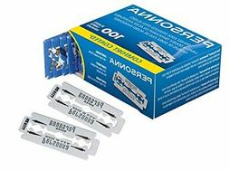 Personna Double Edge Razor Blades Stainless Steel 100 Count