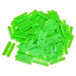 AES Industries Plastic Single Chisel Edge Scraper Blade 100