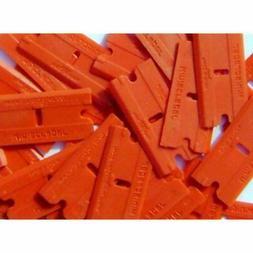Plastic Razor Scraper Blades Double Edged  - Scraperite