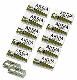 Astra Platinum Double Edge Safety Razor Blades, 50 Blades