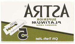 Astra Platinum Double Edge Safety Razor Blades ,100