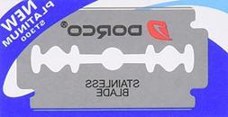 Dorco Platinum ST300 Stainless Steel Razor Blades - 10 Pack