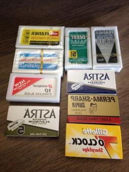 premium de razor blade sampler pack