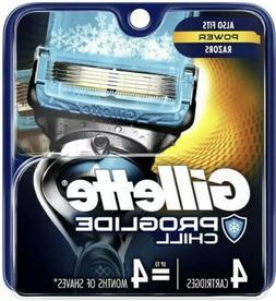 Gillette ProGlide Chill Men's Razor Blades, 4 Cartridges R