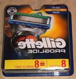 Gillette ProGlide Men's Razor Blades, 8 Blade Refills Free F