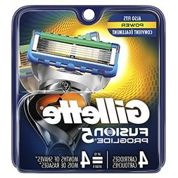 Gillette ProGlide Power Men Razor Blade Refills 4 Count