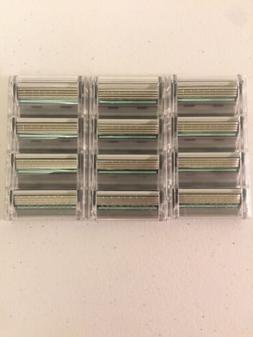 Schick Quattro Men's Razor Blades - 12 Cartridges Brand New/