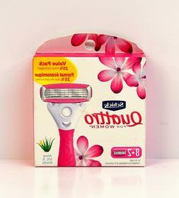 -Schick Quattro Ultra Smooth Razor Blade Refills for Women V