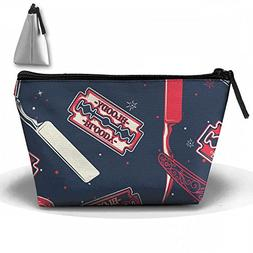 Razor Blade Barber Tool Cosmetic Bags Portable Travel Toilet