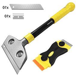 Razor Blade Scraper Set, Vakoo Multi-Purpose 4 inches Large