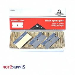 American Line Razor Blades - Single Edge Blades size .009″