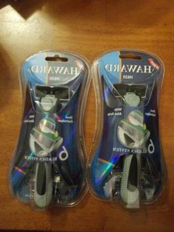 Haward razors. 6 blades system 6 cartridges with aloe strip