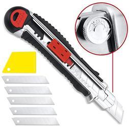 Retractable Box Cutter Utility Knife KUTIR - EASY SELF LOADI