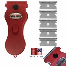 Werxrite RetraGuard Multipurpose Razor Blade Scraper for Gla