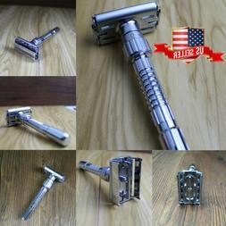 Safety Razor & 5 x Double Edge Blades - Classic Shaving Vint