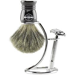 MCS Premium Safety Razor Shaving Kit: Complete Wet Shave Set