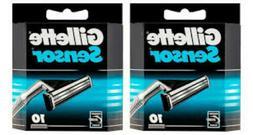 Gillette Sensor Razor Blade Refills - 20 Cartridges