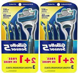 Gillette Sensor5 Men's Disposable Razors, Pack of 6 razors,