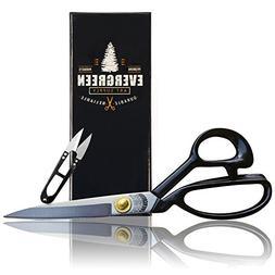 Sewing Scissors +Free Thread Snips - Heavy Duty Scissors Str