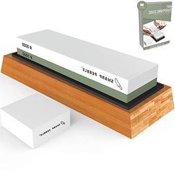 Sharp Pebble Premium Sharpening Stone 2 Side Grit 3000/8000