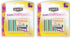 Schick Silk Effects Plus Razor Blade Refills for Women - 5 C