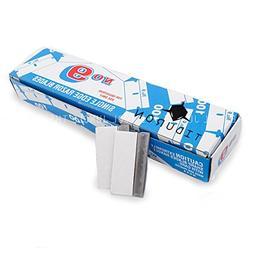 Single Edge Razor Blades Made in USA- NO.9 Steel box of 100