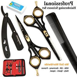 Saaqaans SQKIT Professional Hairdressing Scissors Set - Pack