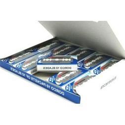Dorco ST300 Platinum Extra Double Edge Razor Blades 1000 Bla