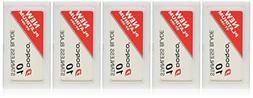 Dorco ST301 Platinum Extra Double Edge Razor Blades - 50 Ct